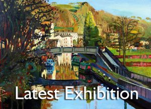 Canal Boats & Old Mill _ Mark Sofilas Latest Exhibition