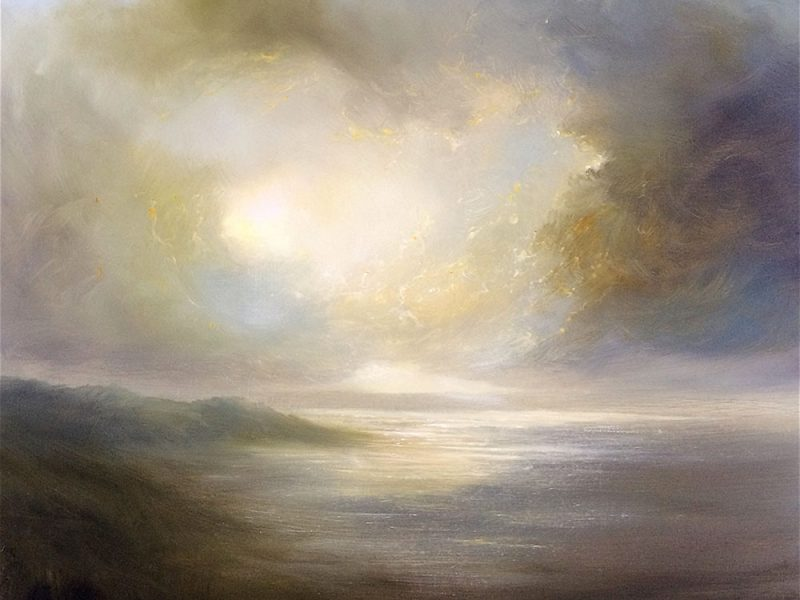Clare Haley- Golden waters