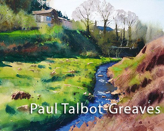 Paul Talbot Greaves - Down by the stream web