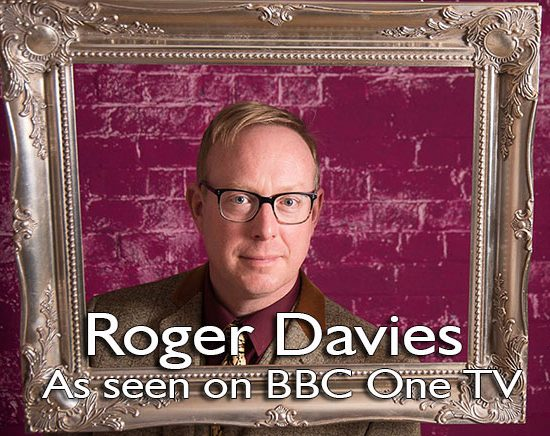 Roger Davies artist as seen on BBC TV