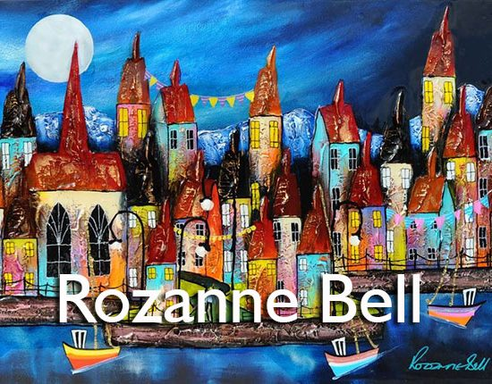 Rozanne Bell Artist at the Harrison Lord Gallery