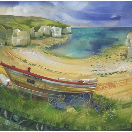 Kate Lycett - Sandsend to Whitby - Harrison Lord Gallery