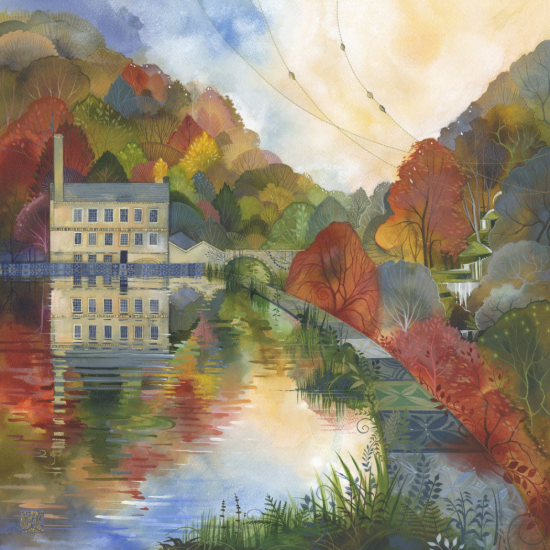 Kate Lycett - Tea at Gibson Mill