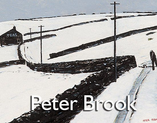 Peter Brook artist at the Harrison Lord Gallery