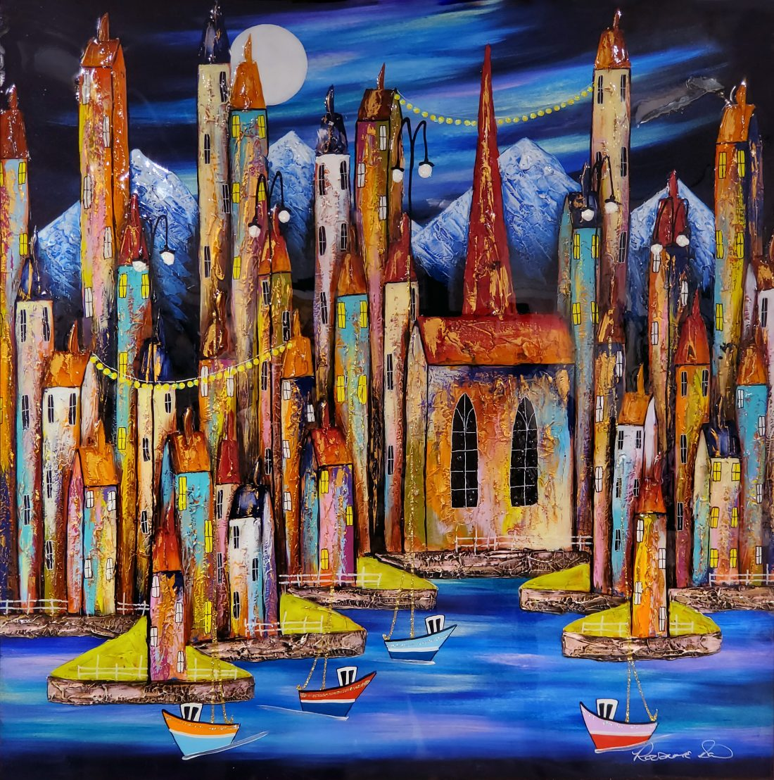 Rozanne Bell - Night Harbour
