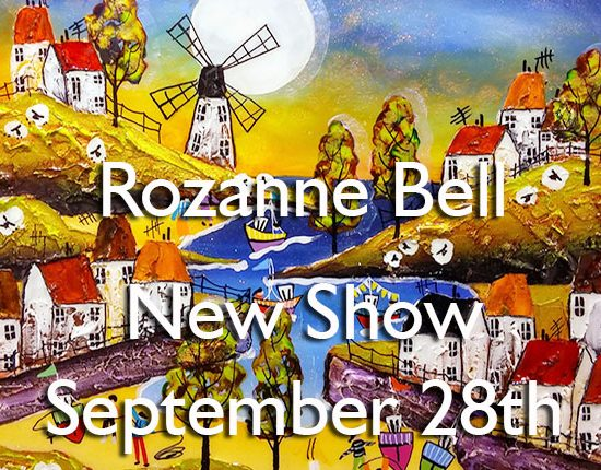 Rozanne Bell Artist - New Show at Harrison Lord Gallery