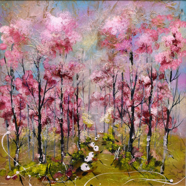 Rozanne Bell - pink blossom