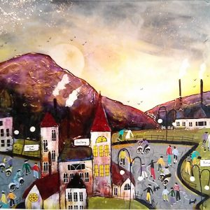 Harrison Lord Gallery Rozanne Bell Original Paintings - Town