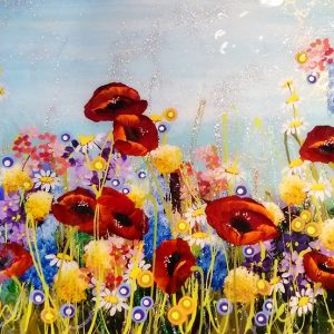 Harrison Lord Gallery Rozanne Bell Original Paintings - Poppies