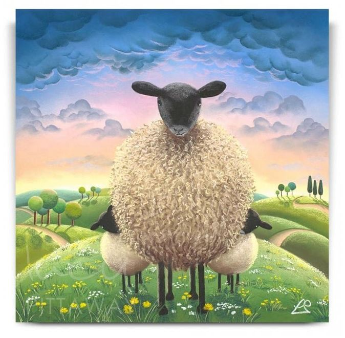 Lucy Pittaway - A Little Sheepish