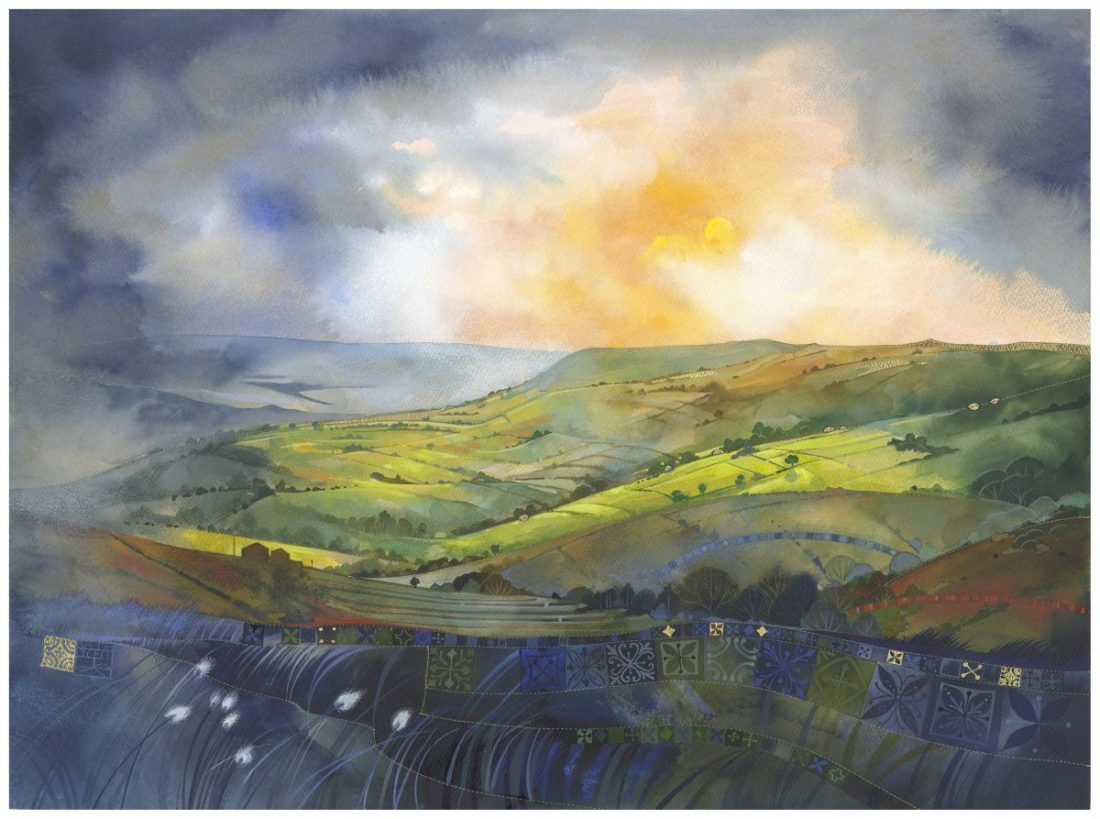 Kate Lycett - A Break in the Clouds at the Harrison Lord Gallery