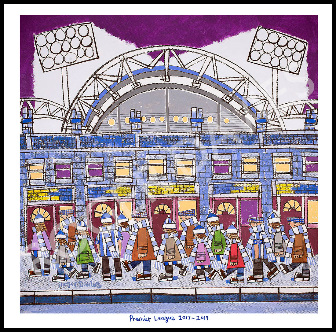 The Terriers Going To The Match - Roger Davies