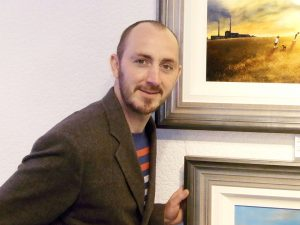 Danny Abrahams at the Harrison Lord Gallery in Brighouse