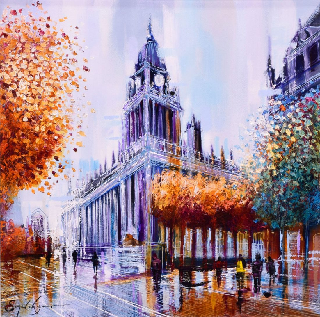 Simon Wright - Leeds Town Hall at the Harrison Lord Gallery