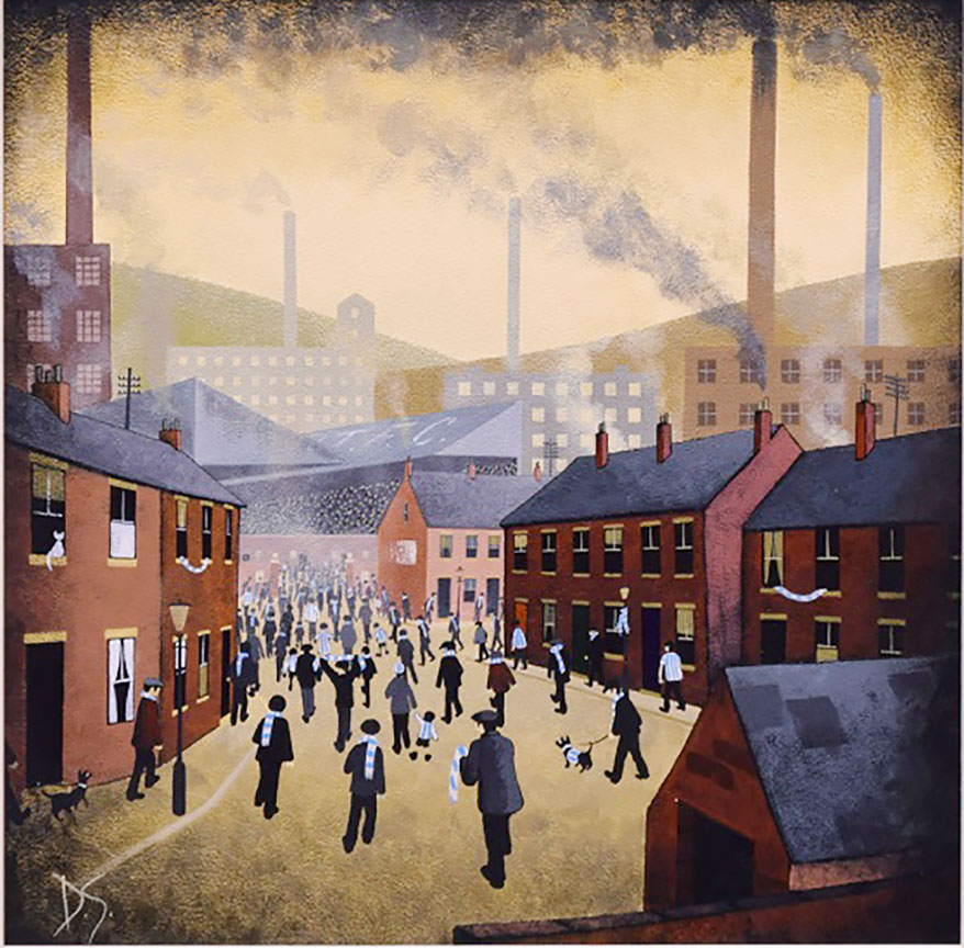 Off to the Match - Huddersfield Town - David Smith