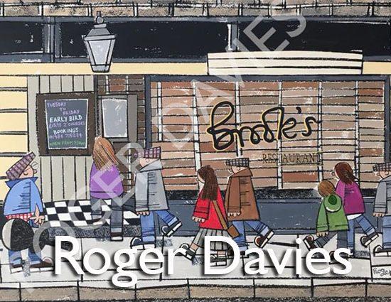 Roger Davies Artist - Brooks