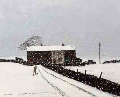 Peter Brook Being Looked Out For - Harrison Lord Gallery