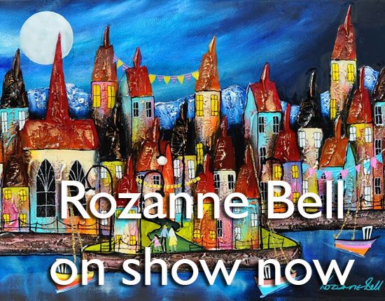 Rozanne Bell Art - Harrison Lord Gallery 2020