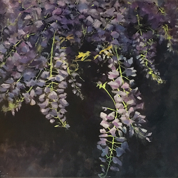 Flowers by Helen Cassidy at the Harrison Lord Gallery
