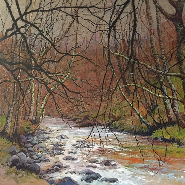 River by Helen Cassidy at the Harrison Lord Gallery