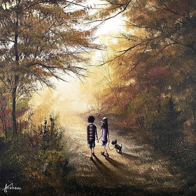 Danny Abrahams - Autumn dreams 16x16