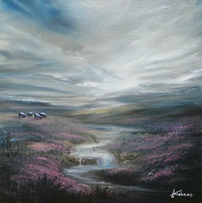 Danny Abrahams - Clarity on the horizon 12x12