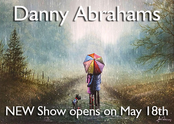 Danny Abrahams - New Show of original paintings