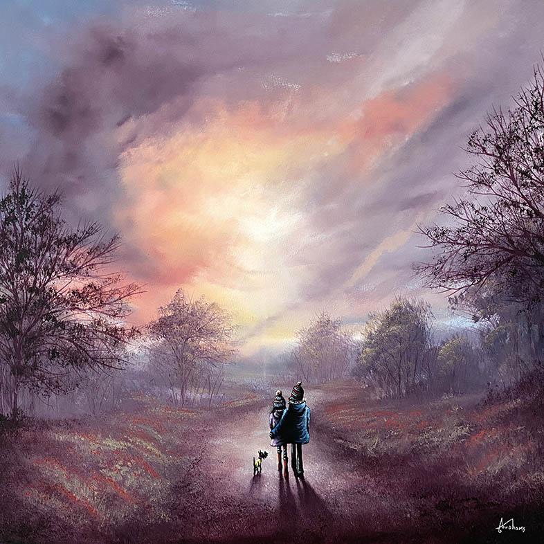 Danny Abrahams - a dreamy kind of love 24x24