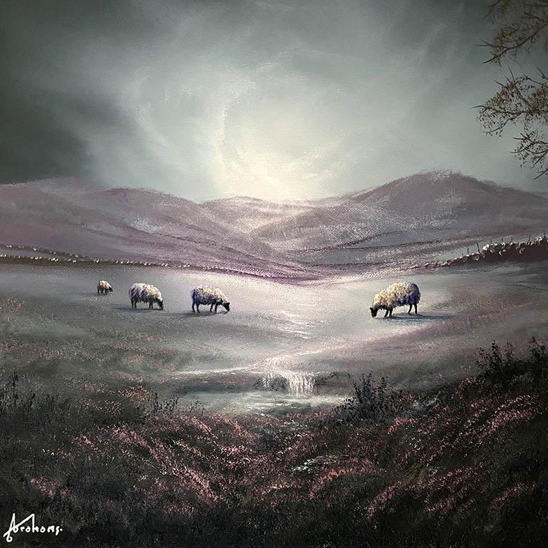 Danny Abrahams - enjoy the joys of life 16x16