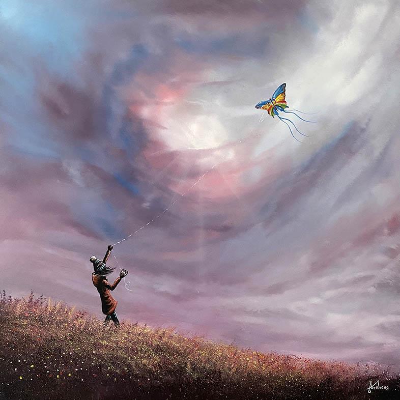 Danny Abrahams - madam butterfly 24x24