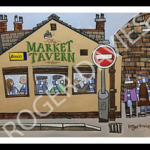 Pre-Match Beers At The Market Tavern - Roger Davies