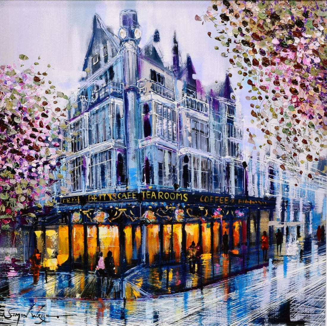 Simon Wright - Bettys Tearoom at the Harrison Lord Gallery