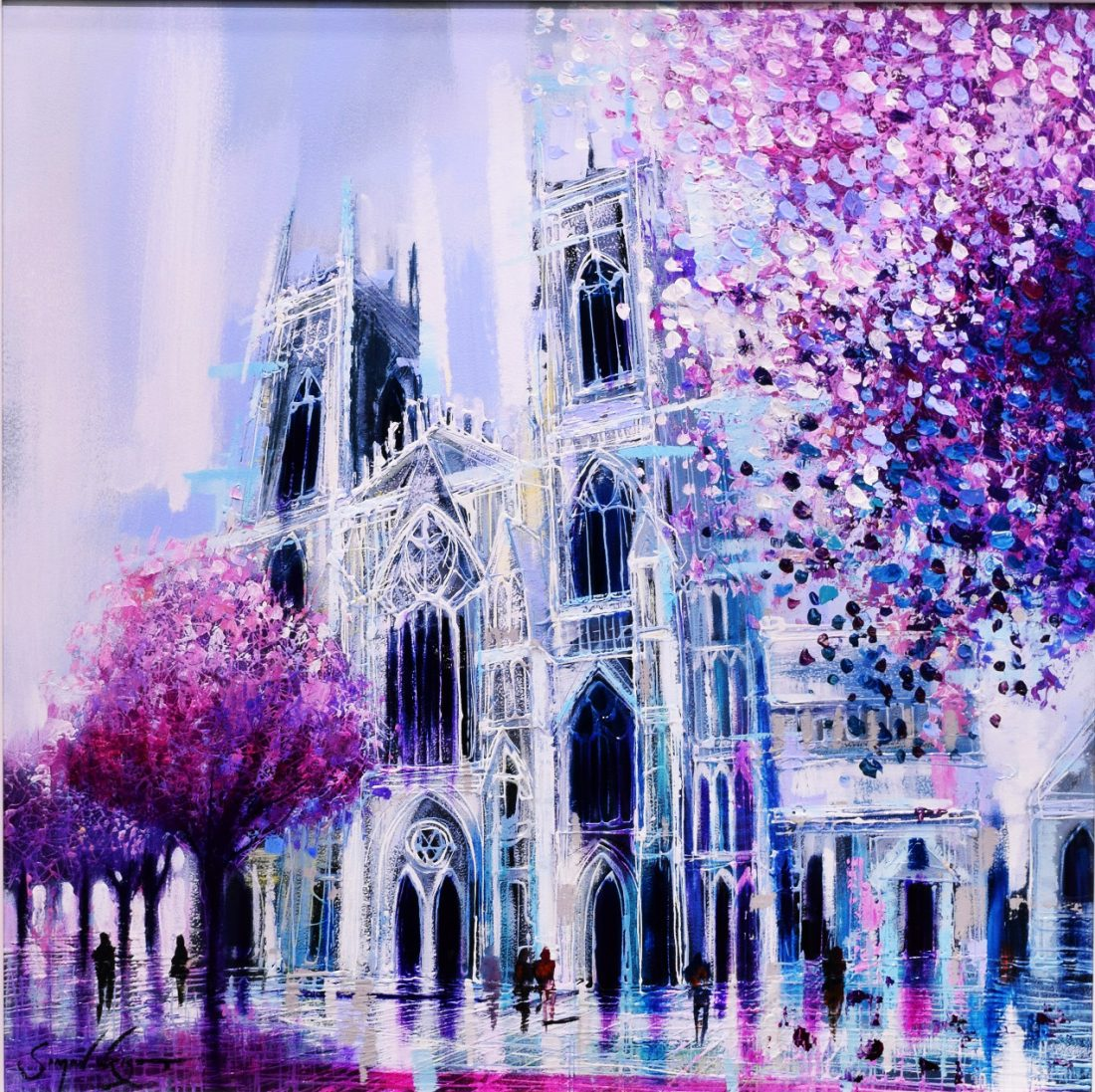 Simon Wright - York Minster at the Harrison Lord Gallery