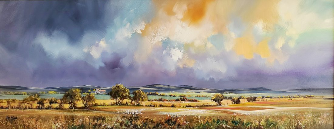 Allan_Morgan Landscape Painting