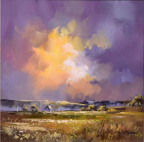 Allan_Morgan Artist - Sky