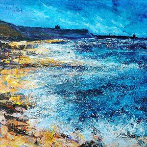 Barbara Renton Wood - Whitby Low Tide 300