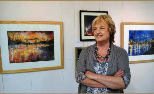 Barbara Renton Wood artist