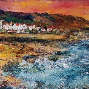 Barbara_Renton_Wood_Sandsend_Early_Morning_original_canvas_wrap_BRW50