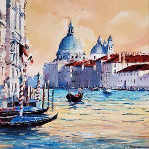Gary_Sams_Framed_original_Venice_ID147 - 350