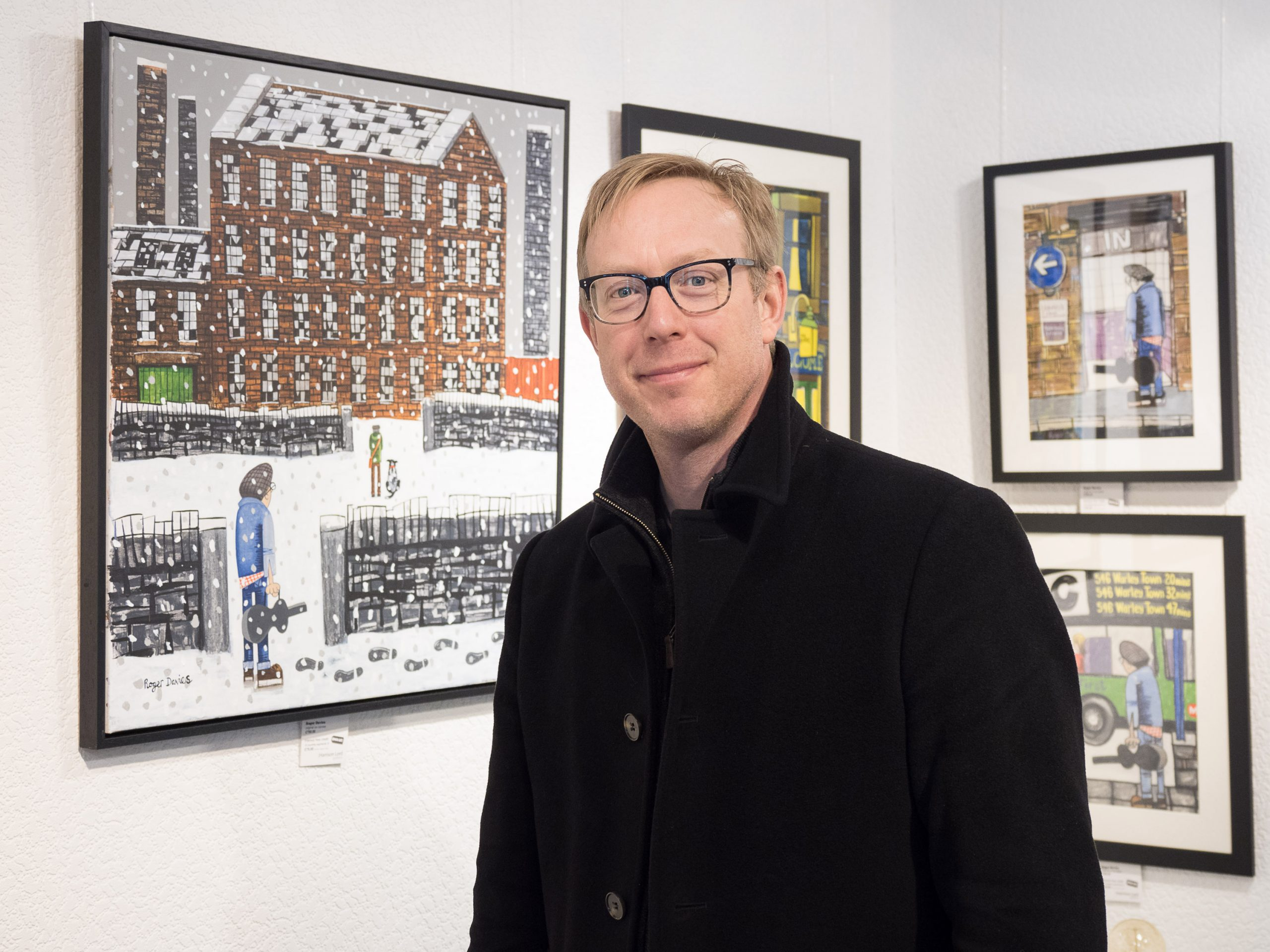 Roger Davies in the Harrison Lord GAllery