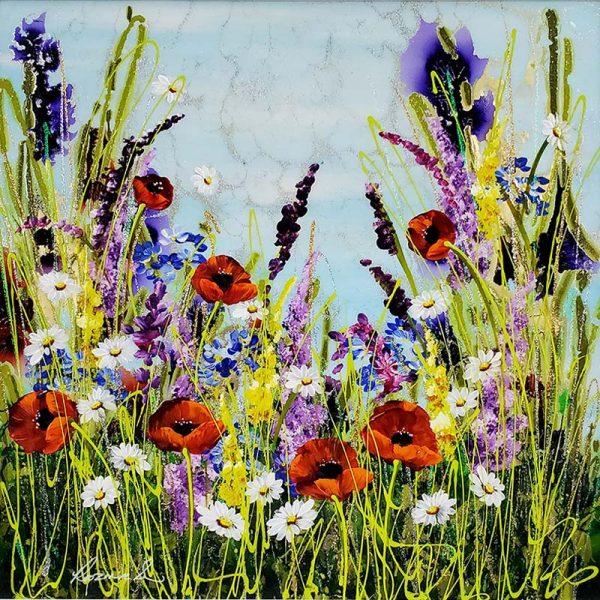 Rozanne Bell original summer flower meadow ID386