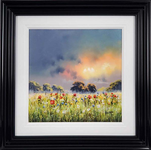 Allan Morgan - Summer Meadow - Framed original - id399