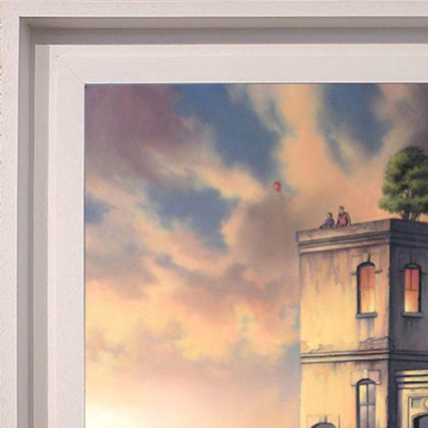 Chris Pepper framed original World of our Own frame detail CP14