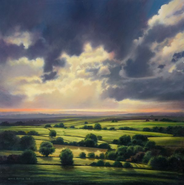 Chris Pepper original painting northern horizon CP11