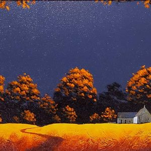 John Russell - original - Farmhouse in the Trees - id396
