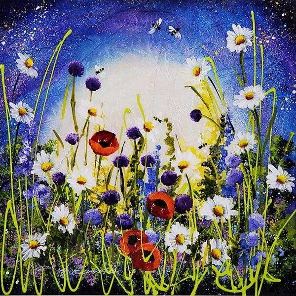Rozanne Bell Flower Meadow original ID397