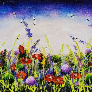 Rozanne Bell Poppies and Bees original id403