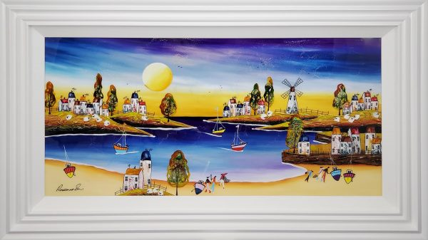 Rozanne Bell original Day at the Seaside ID392