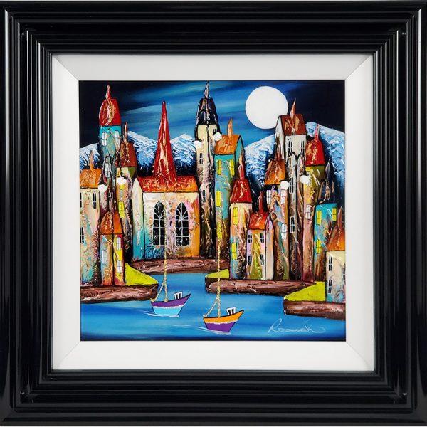 Rozanne Bell original Night Harbour id398