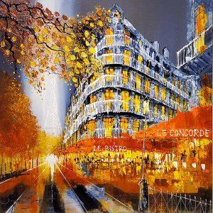 Simon Wright - original - Paris Evening - ID391